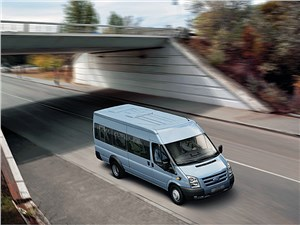 Предпросмотр ford tranzit 2006 микроавтобус длинная база средняя крыша фото 2