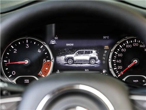 Предпросмотр jeep renegade 2019 приборная панель