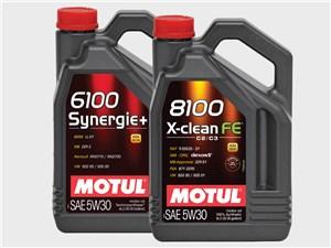 MOTUL 6100 Synergie+5W30, MOTUL 8100 X-clean FE 5W30