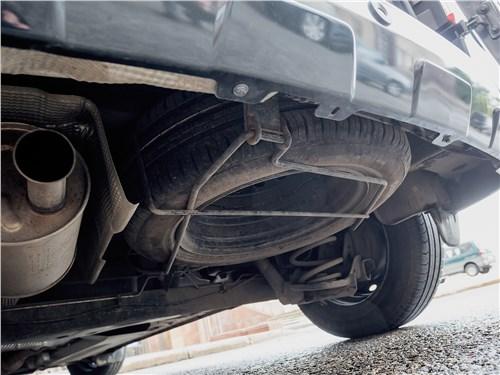 Renault Dokker 2018 запасное колесо