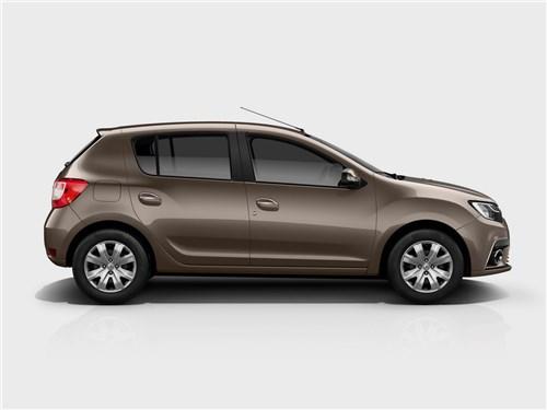 Предъявите аргументы! Sandero - Renault Sandero 2018 вид сбоку