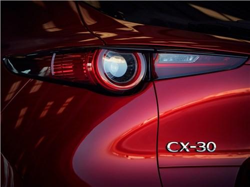 Предпросмотр mazda cx-30 2020 задний фонарь