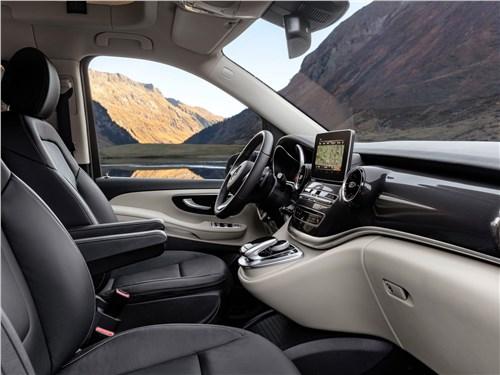Предпросмотр mercedes-benz v-klasse 2020 передние кресла