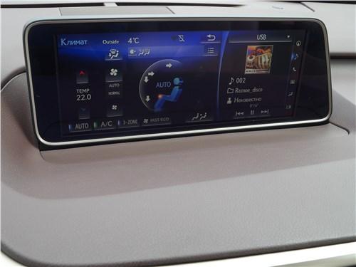 Предпросмотр lexus rx 350l 2018 монитор