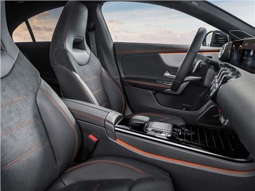 Предпросмотр mercedes-benz cla 2020 передние кресла