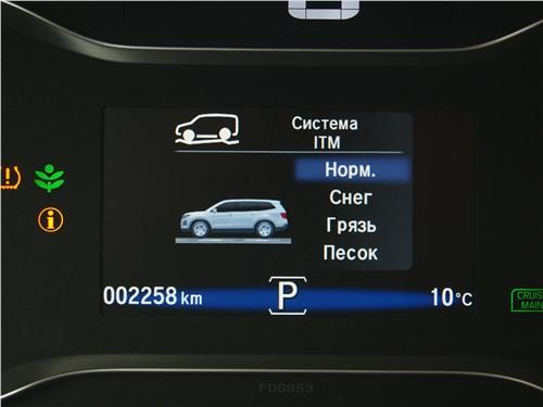 Honda Pilot 2019 приборная панель
