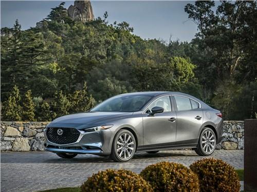 Охота на лидера 3 - Mazda 3 Sedan 2019 вид спереди