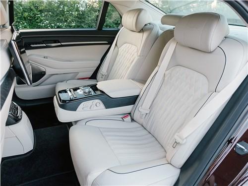 Hyundai Genesis G90 2019 коесла для пассажиров второго ряда