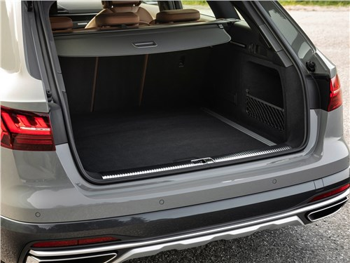 Предпросмотр audi a4 allroad quattro 2020 багажное отделение