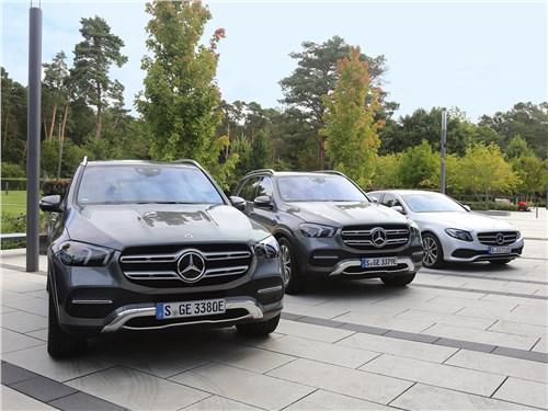 Гибридные C-Сlass, E-Сlass, S-Class и GLC начнут продавать в России до конца 2019 года