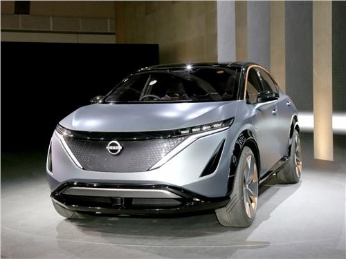 Nissan Ariya Concept 2019 вид спереди
