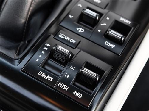 Lexus GX 2020 выбор режимов
