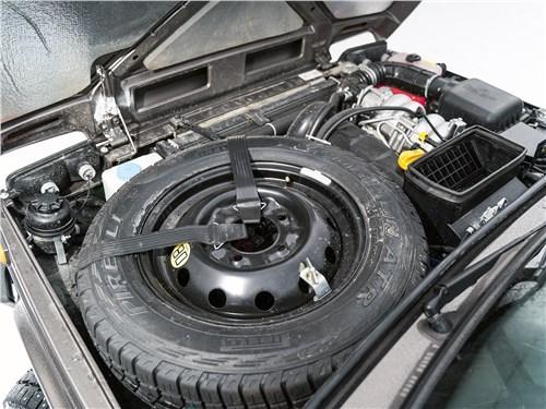 Предпросмотр lada 4x4 2019 моторный отсек