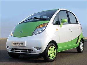 Tata Nano получила двухтопливную модификацию