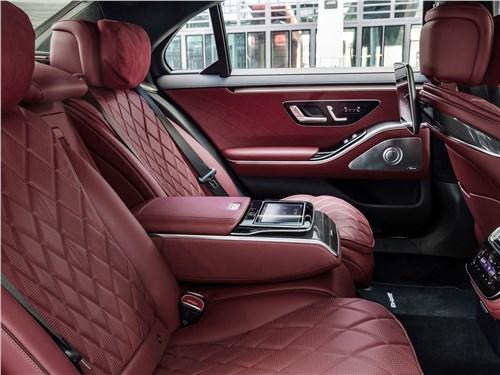 Предпросмотр mercedes-benz s-class (2021) задний диван