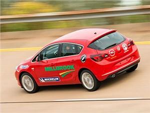Хэтчбек Opel Astra установил рекорд средней скорости для автомобилей с дизелем