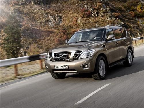 Nissan Patrol ушел с российского рынка