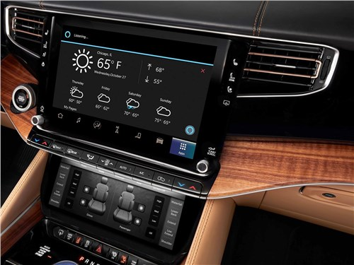 Предпросмотр jeep grand wagoneer (2022) центральная консоль