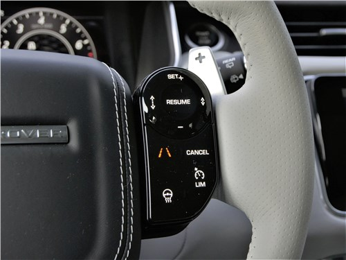 Land Rover Range Rover Sport SVR (2018) руль