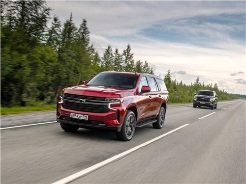 Chevrolet Tahoe (2021) вид спереди