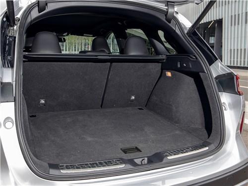 Предпросмотр infiniti qx50 (2021) багажное отделение