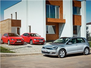 SEAT Leon, Skoda Octavia, Volkswagen Golf - сравнительный тест seat leon, skoda octavia, volkswagen golf