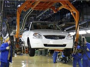 В Тольятти возобновилось производство Lada Priora