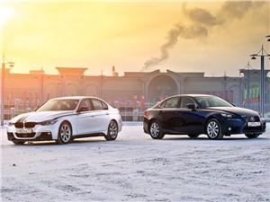 BMW M3 - сравнительный тест bmw m3 и lexus is