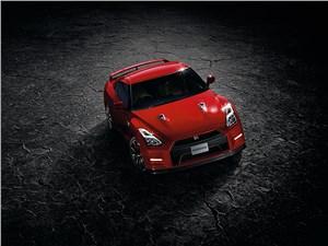 Nissan GTR 2013 вид сверху