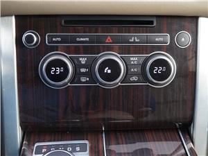 Range Rover LWB 2014 управление климат-контролем