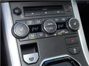 Range Rover Evoque 2012 управление климатом и магнитолой