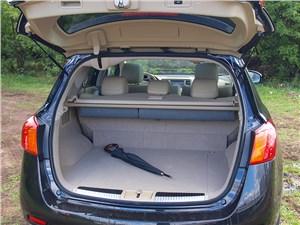 Nissan Murano 2011 багажное отделение