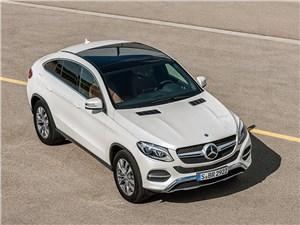 Mercedes-Benz GLE Coupe 2016 вид спереди сверху