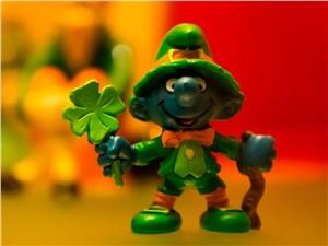 Лепрекон и листик клевера – настоящие символы Ирландии