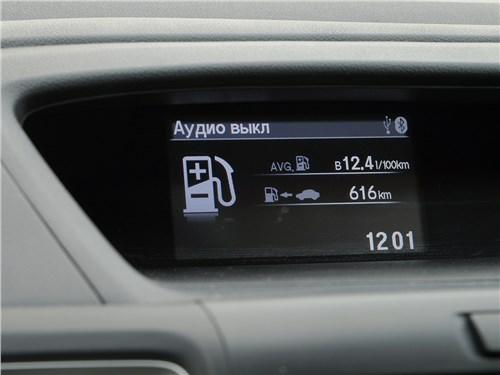 Honda CR-V 2015 дополнительный дисплей