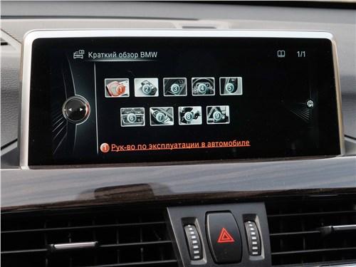 Предпросмотр bmw x1 2016 монитор