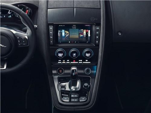 Предпросмотр jaguar f-type 2018 центральная консоль