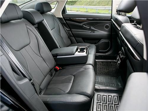 Geely Emgrand GT 2017 задний диван