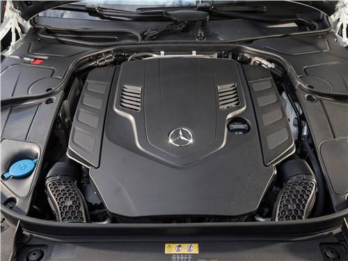 Mercedes-Benz S-Class 2018 двигатель