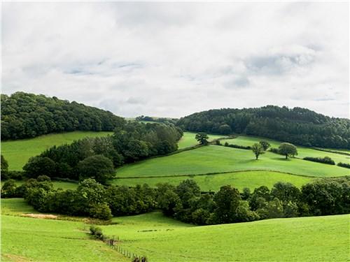 Пейзажи валлийской сельской глубинки умиротворяют путешественников