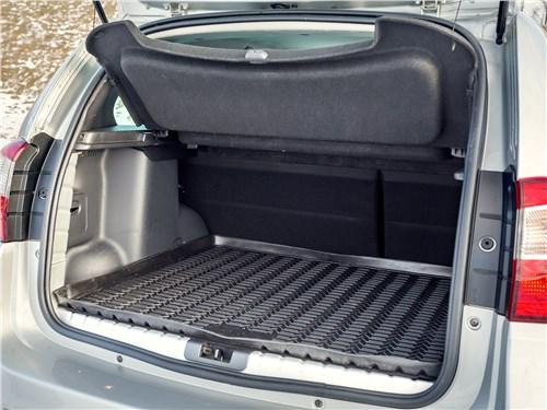 Nissan Terrano 2016 багажное отделение