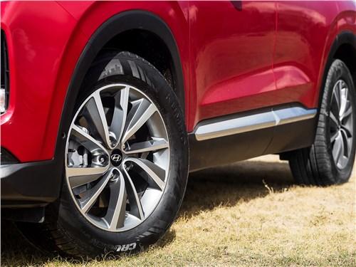 Hyundai Santa Fe 2019 колеса