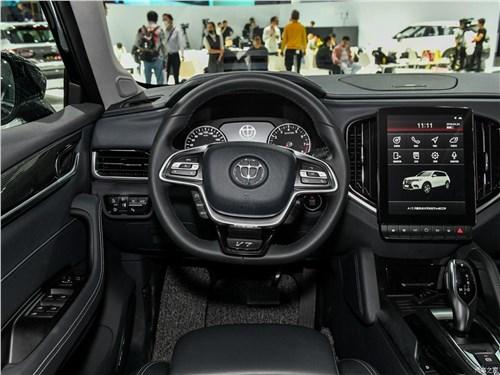 Предпросмотр brilliance v7 2018 водительское место