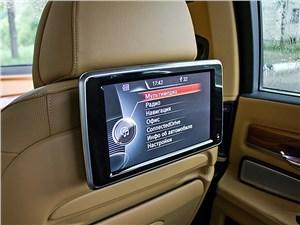 BMW 7 series 2013 мультимедийный дисплей