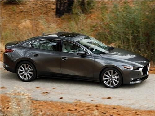 Охота на лидера 3 - Mazda 3 Sedan 2019 вид спереди сбоку