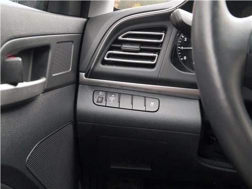 Hyundai Elantra 2019 отделка салона