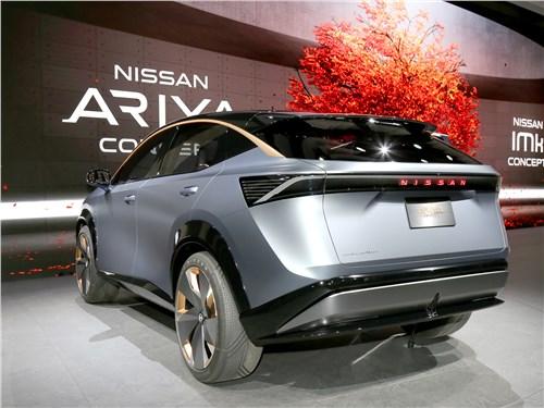 Nissan Ariya Concept 2019 вид сзади