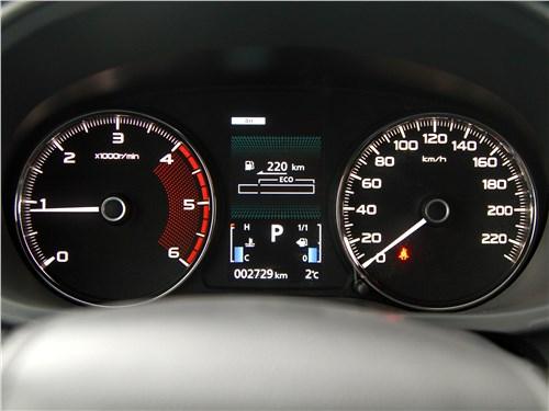 Mitsubishi Pajero Sport 2020 приборная панель