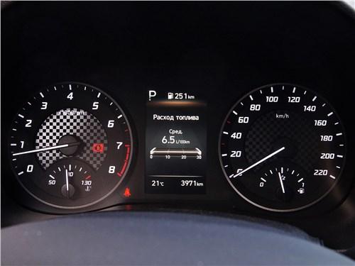 Hyundai Solaris 2020 приборная панель
