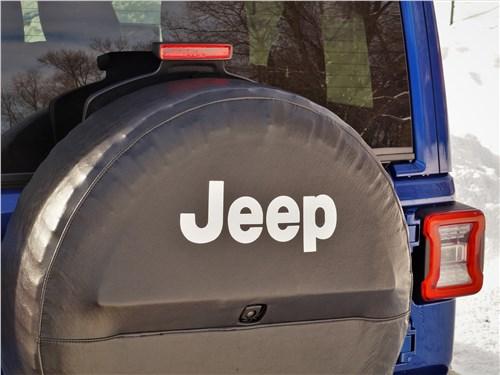 Jeep Wrangler (2018) запаска